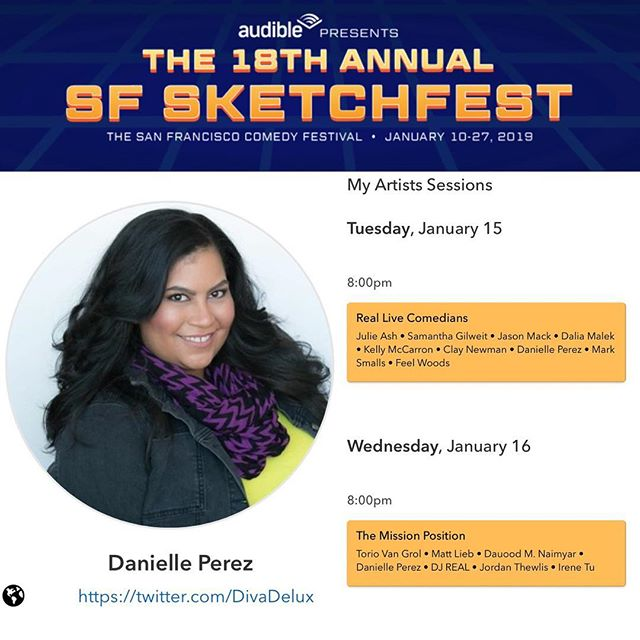 BAY AREA you've got 2 chances to see me at #SFsketchfest this week! I'll be at Punch Line tonight & tomorrow in my finest winter hoewear, come through! ✨✨✨ 1/15 @reallivecomedians  8pm @punchlinesf ✨✨✨ 1/16 @missioncomedy  8pm @punchlinesf 🎟🎟🎟 @sf_sketchfest