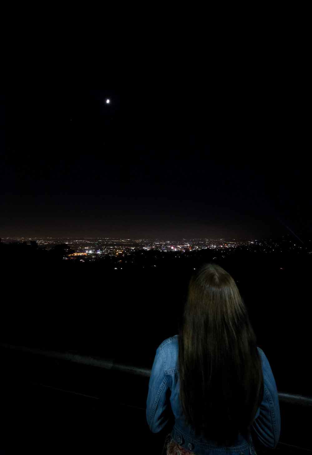 View from the Griffith Observatory, Los Angeles, California