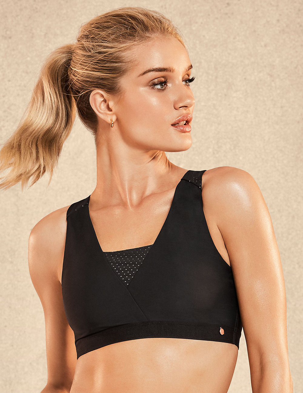 Medium Impact Crop Top - M&S