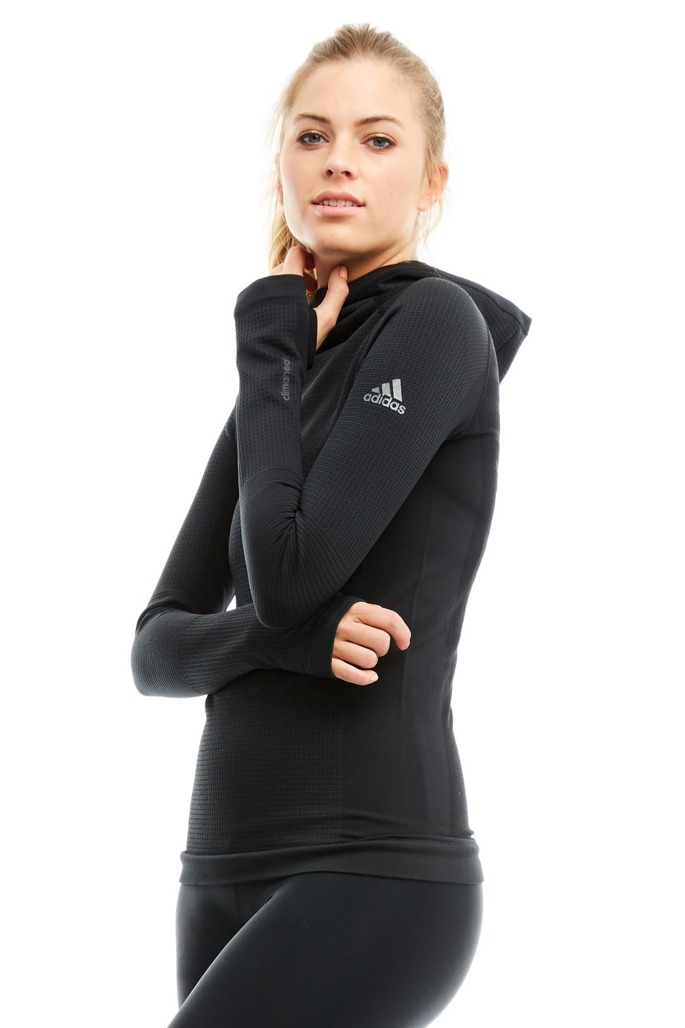 Seamless Climaheat Hooded Top - Adidas