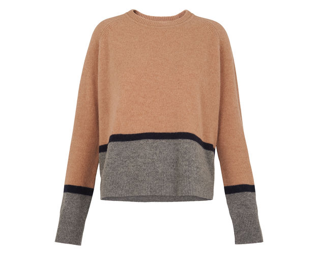 Colour Block Sweatshirt - Whistles