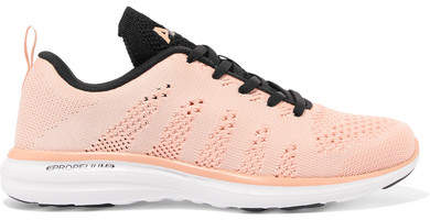 Techloom Pro Mesh Sneakers - Blush