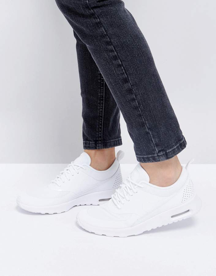 Nike Air Max Thea Trainers In White