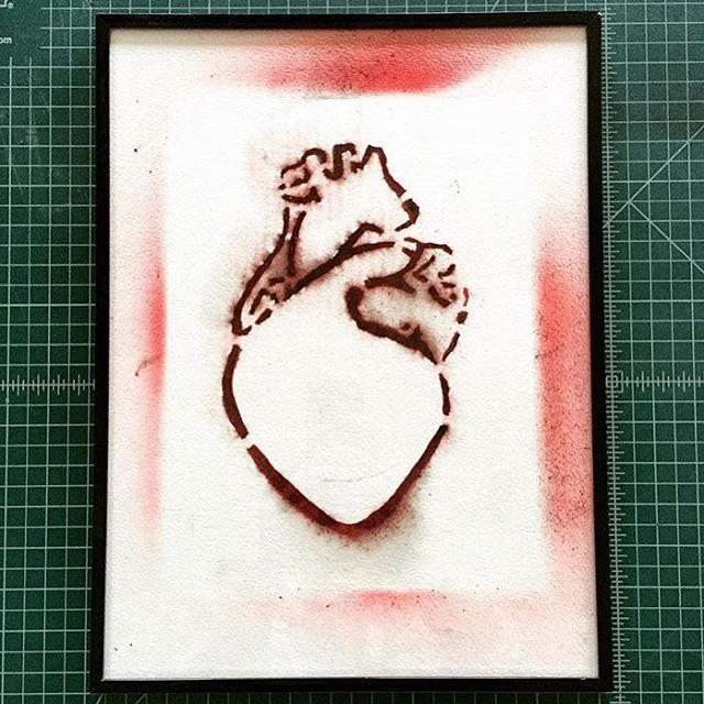 Gunpowder Heart. $150 framed.  For sale.  #portland #maine #gunpowder #art #artist #fire #local #lovepoet #colors #canvas #sale #kennebunkport #maine #artsale #writer #write #human #love #gunpowderart #man #romance #paper #state #heart #framed