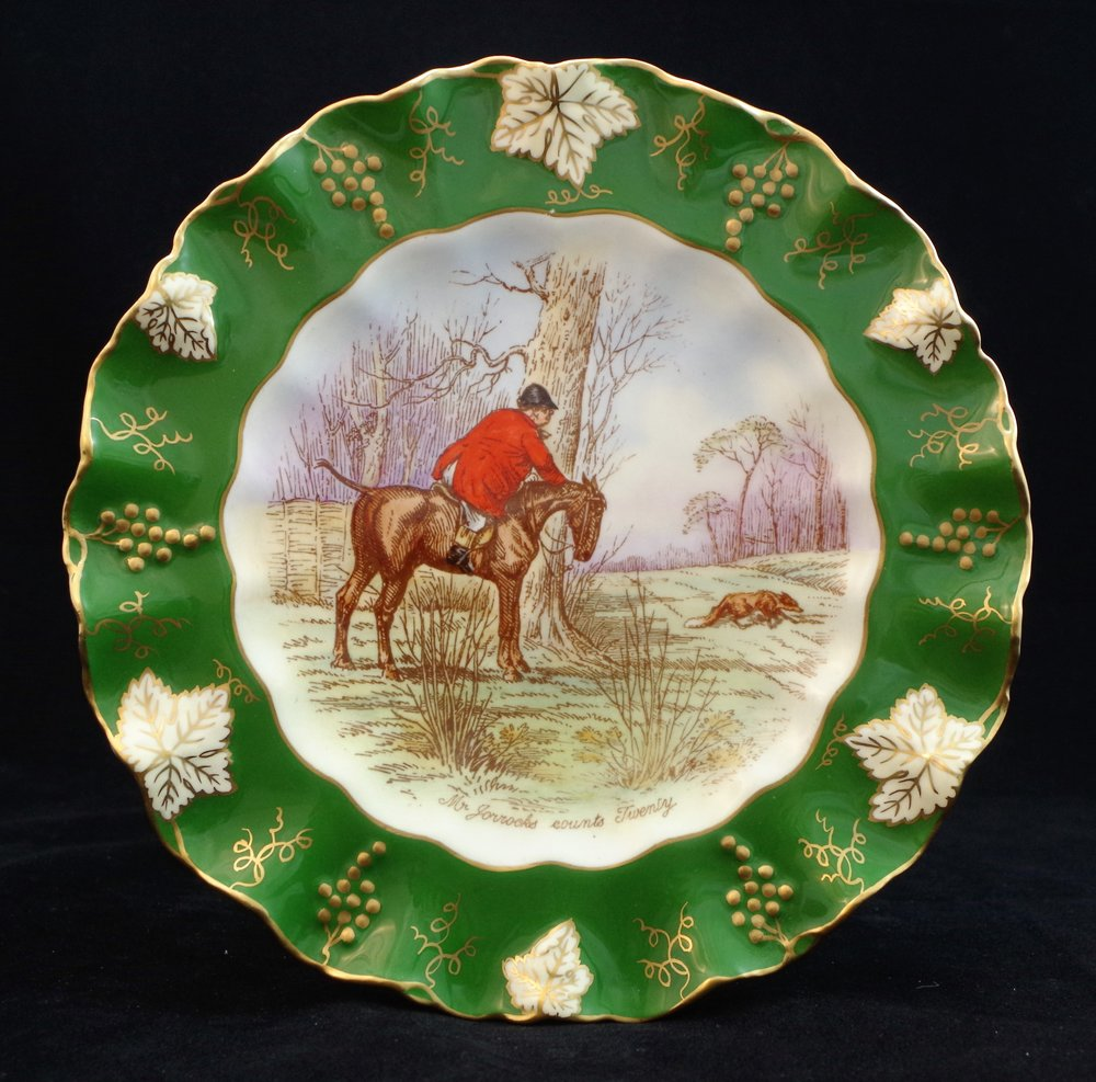 royal-crown-derby-vine-siam-green-ground-jorrocks-4