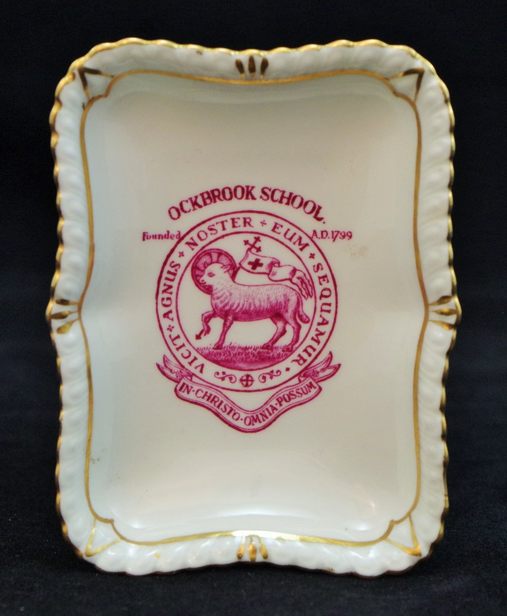 royal-crown-derby-gadroon-oblong-coronation-tray-ockbrook-school