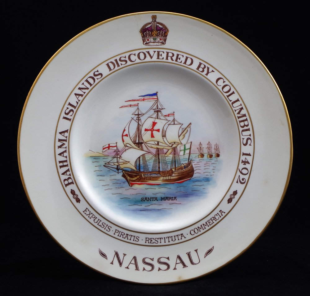 royal-crown-derby-discovery-of-bahama-islands-by-columbus-1492