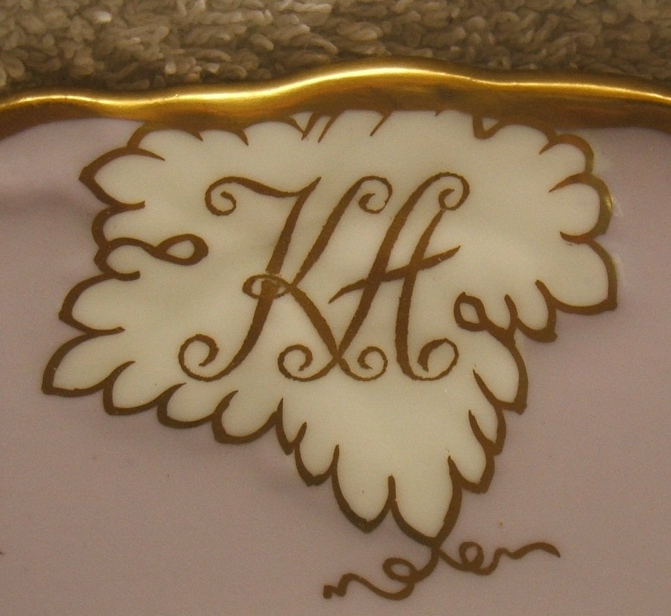 royal-crown-derby-vine-heliotrope-Kamal-Adham-A812-monogram-close-up