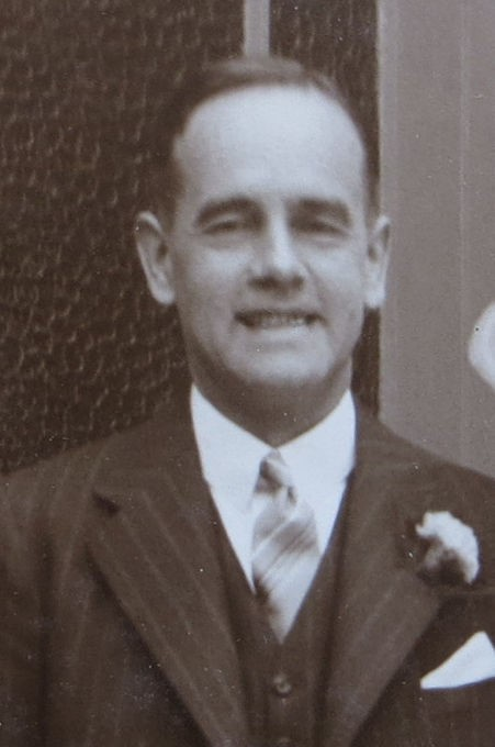 Arthur Shephard in 1936 (Photograph courtesy of John Shephard)
