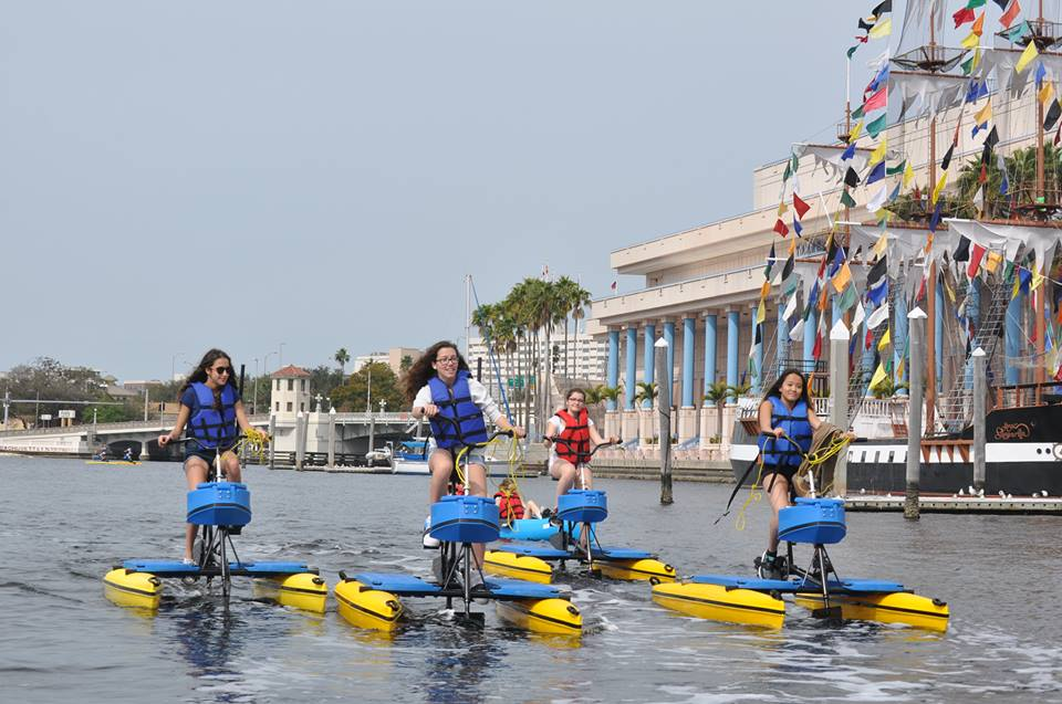 "The Tampa Bay Water Bike Company has partnered with us to offer attendees a 25% discount! Water biking is arguably the coolest way to experience Tampa's downtown. You get 25% off a 1 hour Water Bike or Single Biyak rental, valid from October 6th-10th (not valid for tandem biyaks or 2 hour rentals). Use promo code ""USFTANGO"" to book online at:  http://www.tampawaterbikes.com/book-now/"