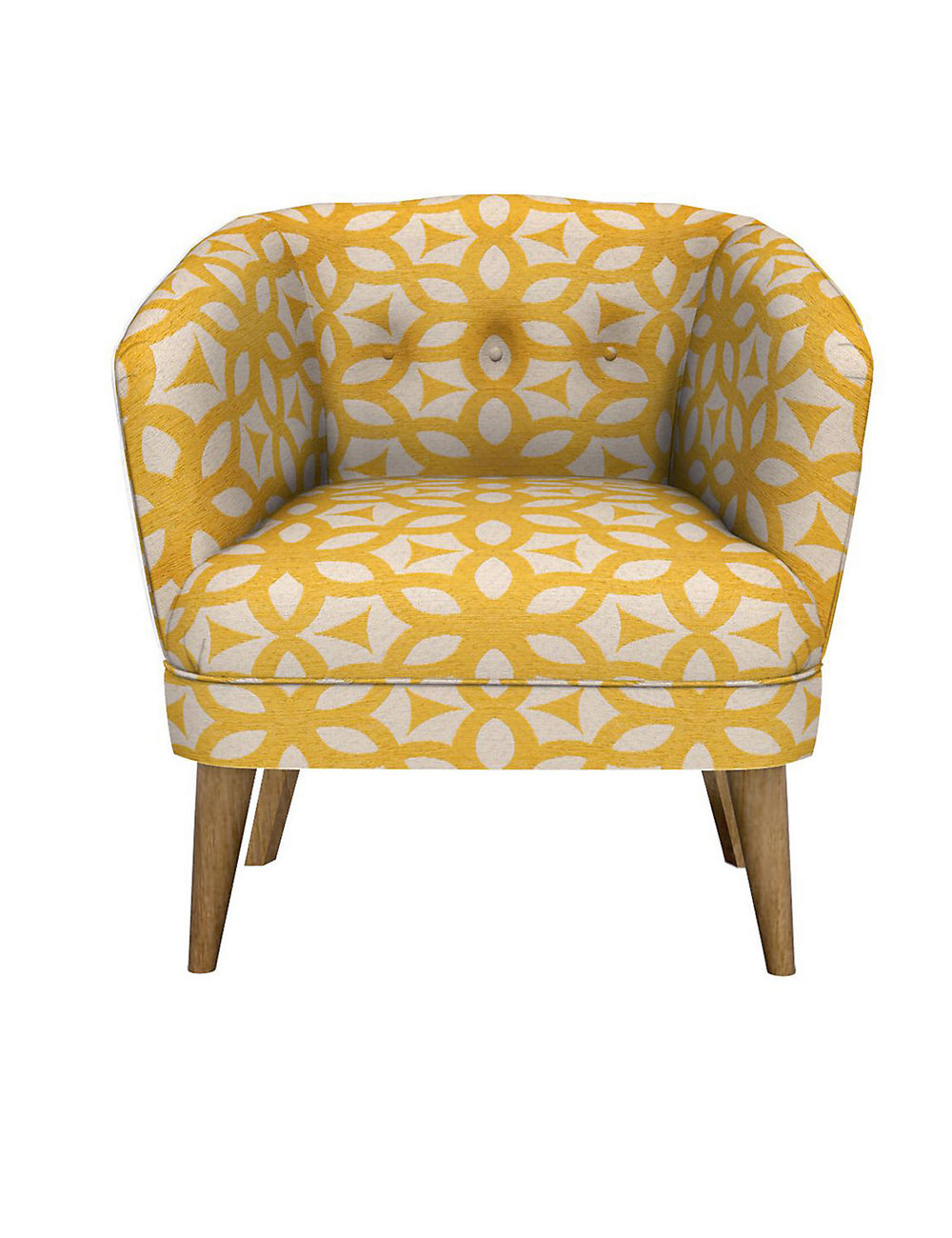 Benni Armchair Feiva Yellow
