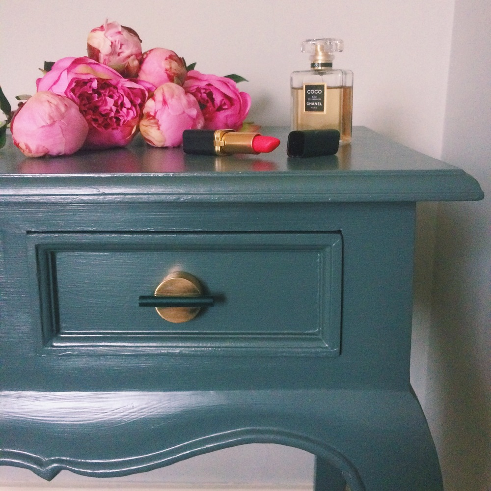 bright coloured furniture. Do You Browse Instagram, Pinterest Or Interior Magazines And Ogle Peoples Rooms That They Have Painted A Dark Really Bright Colour? Coloured Furniture
