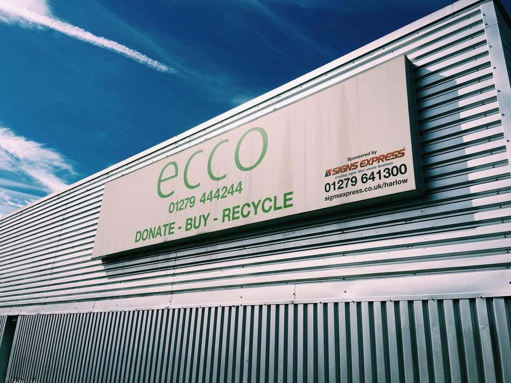 Ecco warehouse in Harlow, Essex.