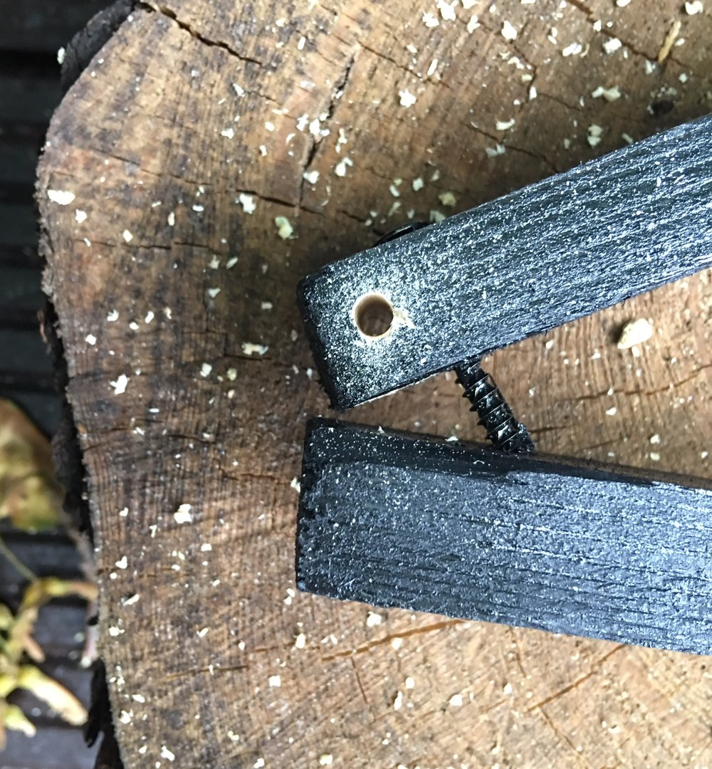 Pre-drill screw holes to stop your wood from splitting