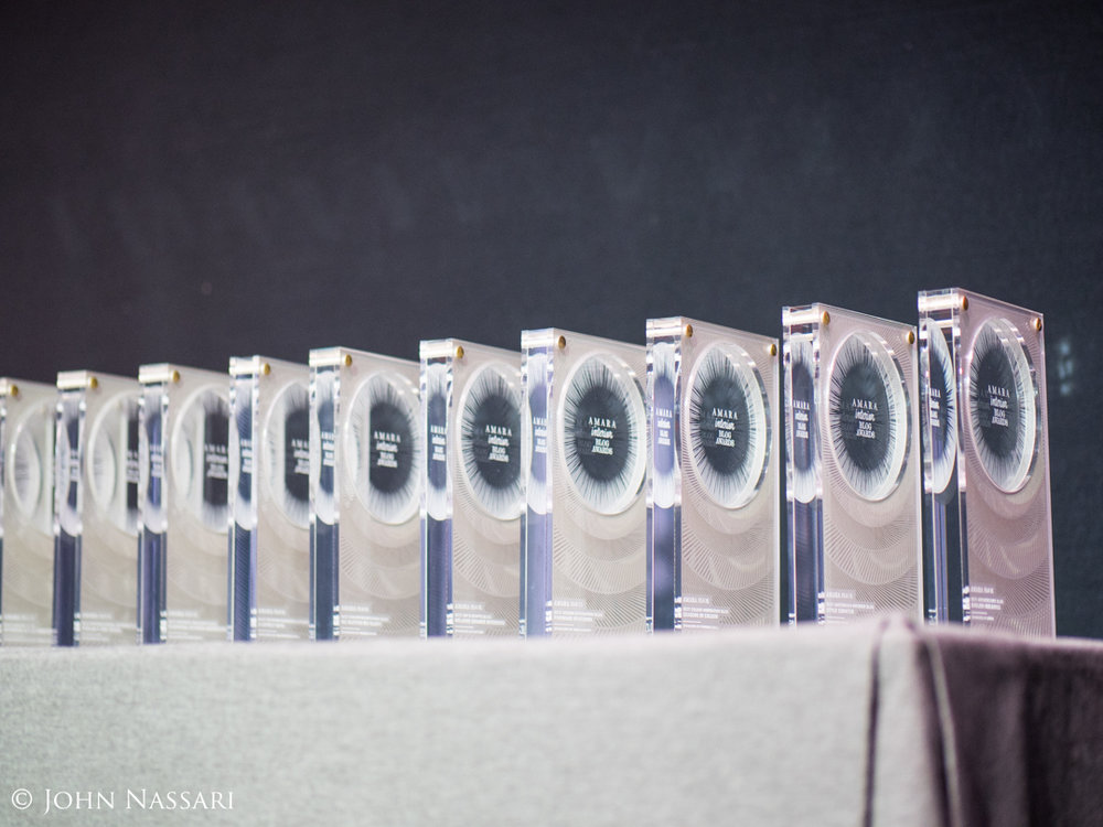 The Amara awards, designed and made by Cutture.   Photo by John Nassari.