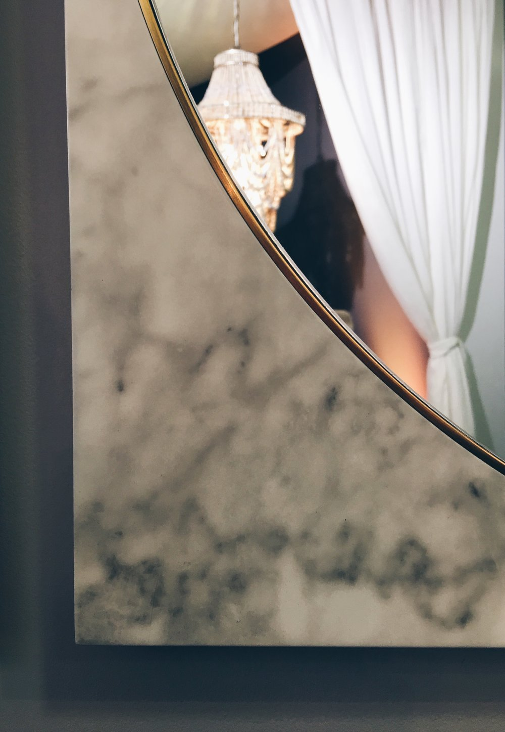 This large Conran faux-marble effect/gold wall mirror was a favourite - £99, M&S.