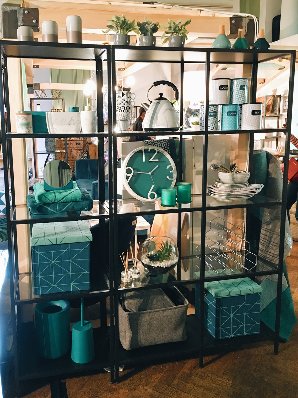Blue and teal dominate at Next Home for SS17.