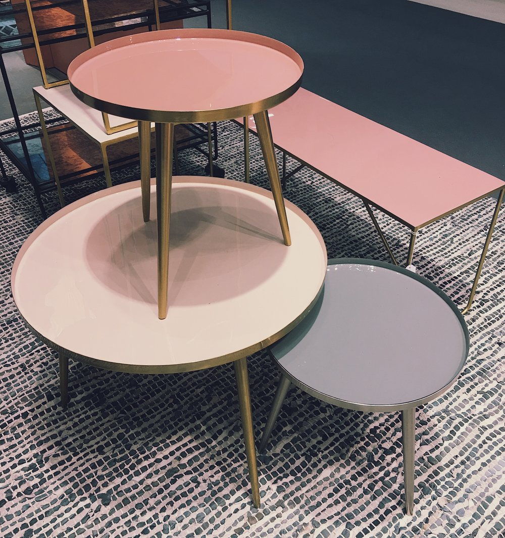 Buy these  B  roste Copenhagen side tables at Amara.