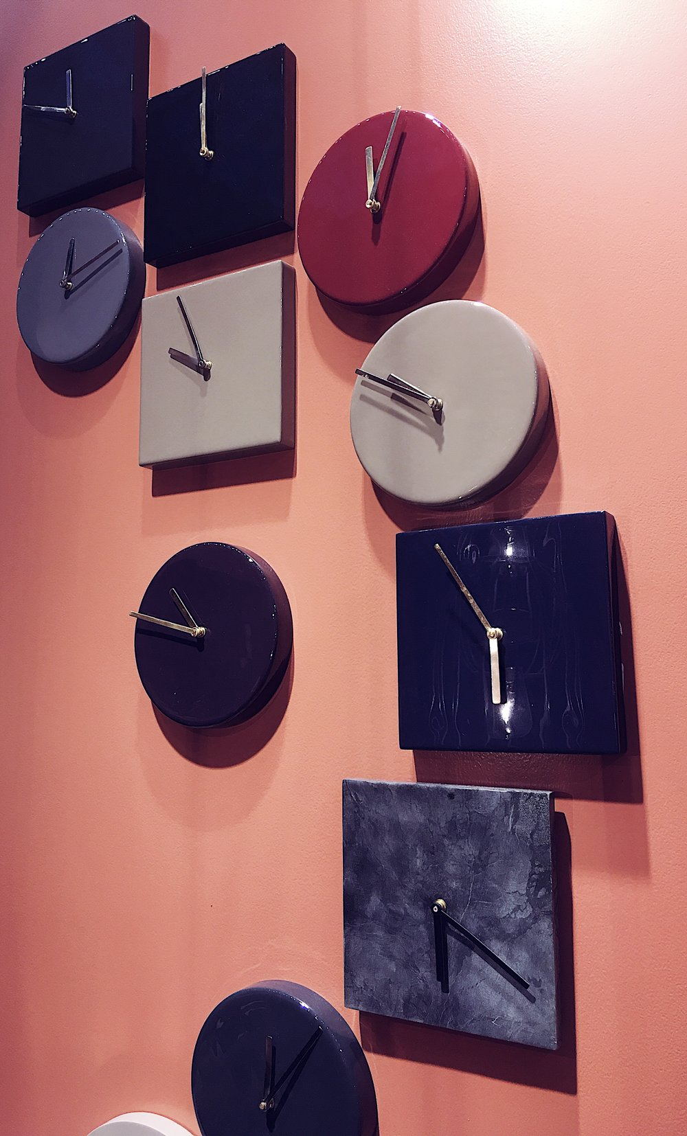 I loved these Broste Copenhagen ceramic clocks