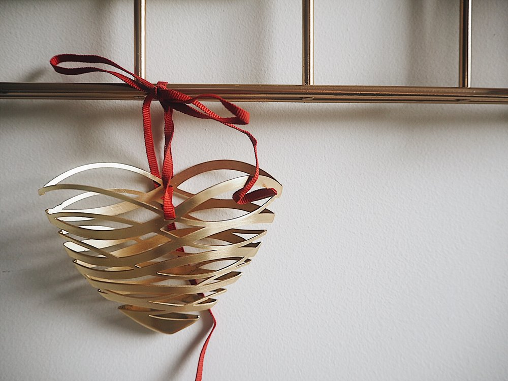 This hanging heart deocration is by Seletti