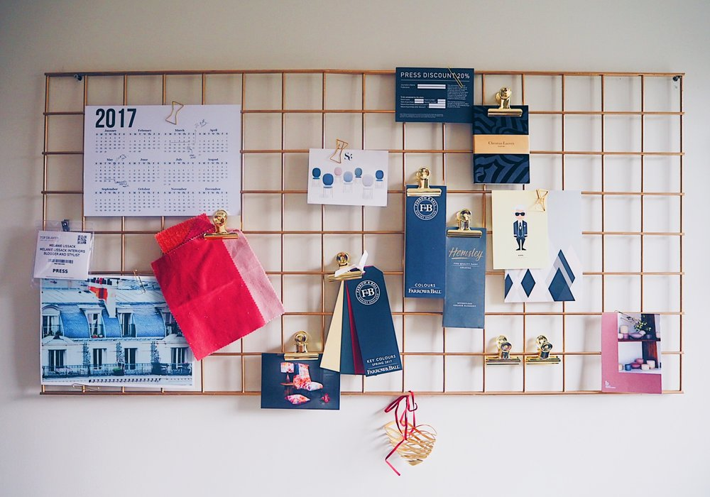 display pin board