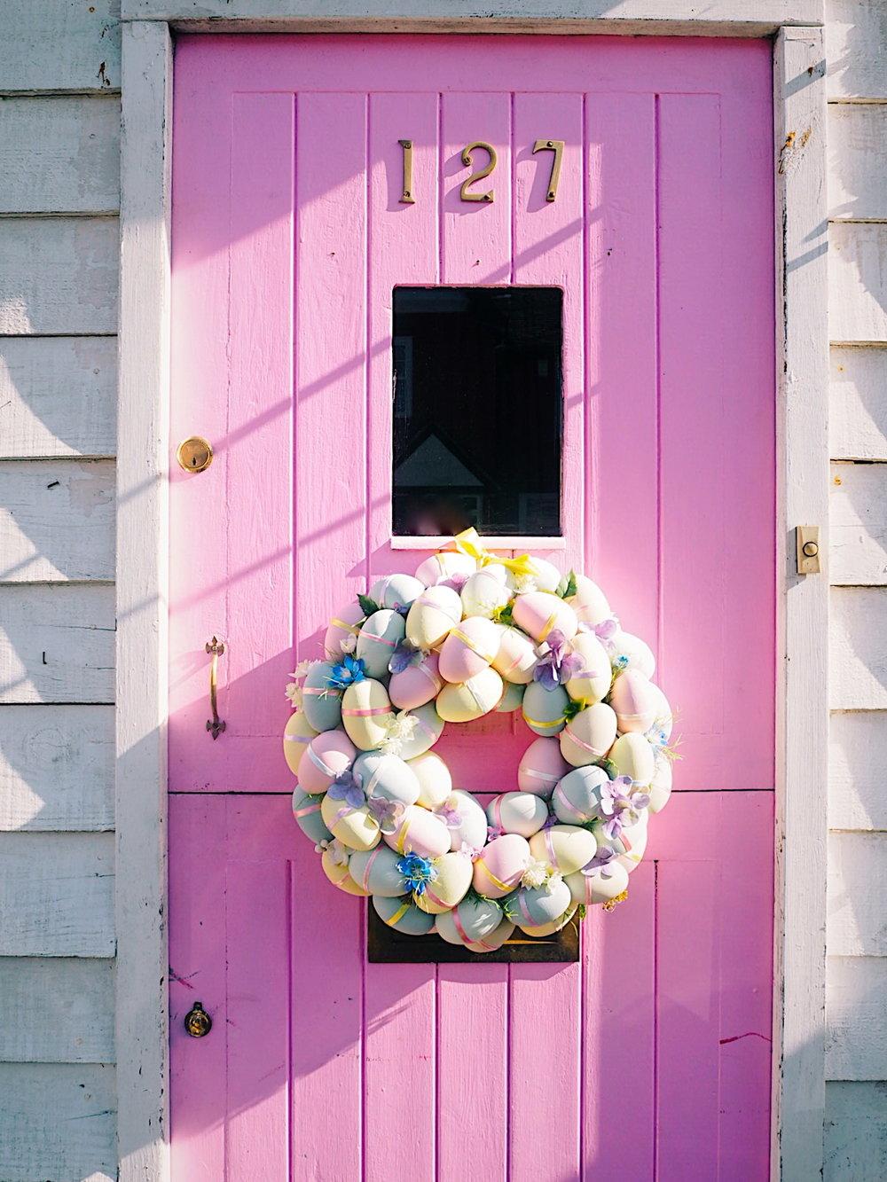 easter wreath on pink door.jpg