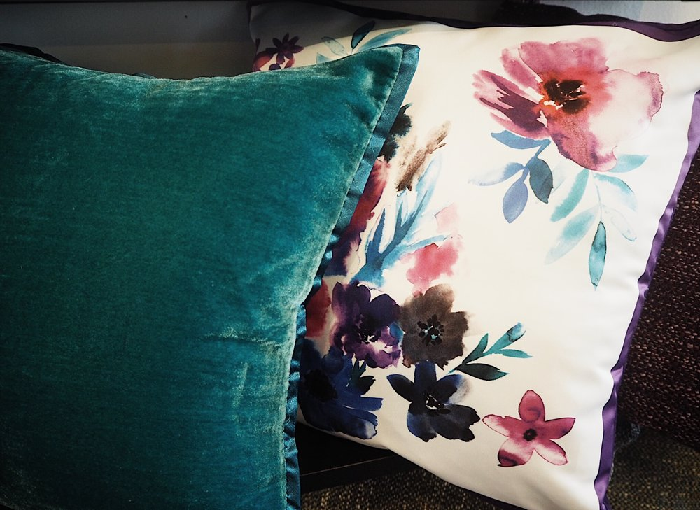 These cushions are part of a new collection available at  Very.