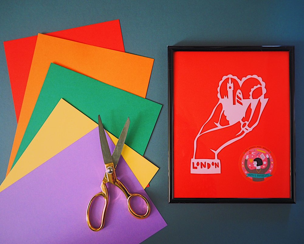 an evening of paper cutting with poppy's papercuts: how to create