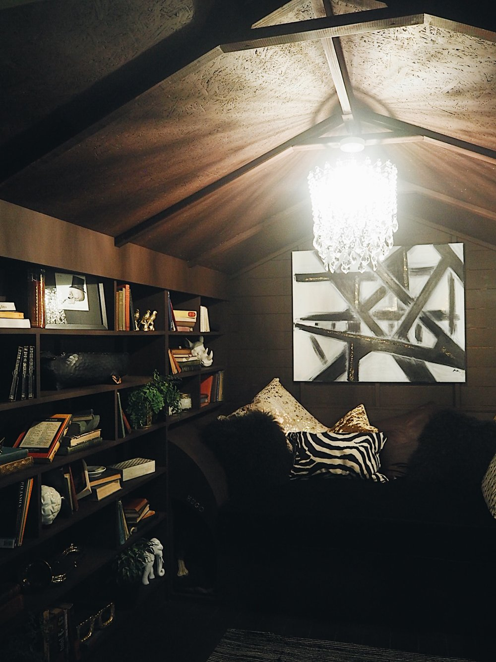 Reading Snug by Dappled Interiors, and the winner of the Grand Shed Project