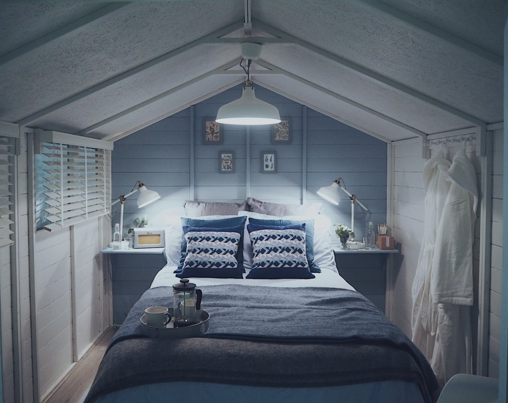 The Boutique Bedroom In A Potting Shed by KG Lifestyle and Interiors