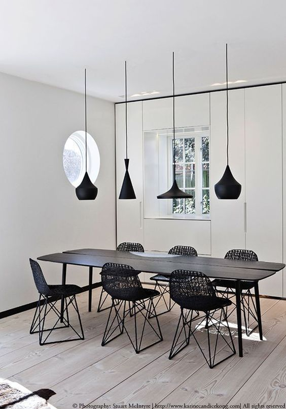 room modern pendant for lighting dining