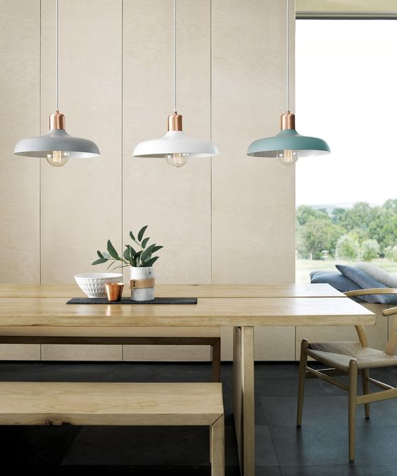 Purchase similar pendant lights here. Photo credit: Beacon Lighting.