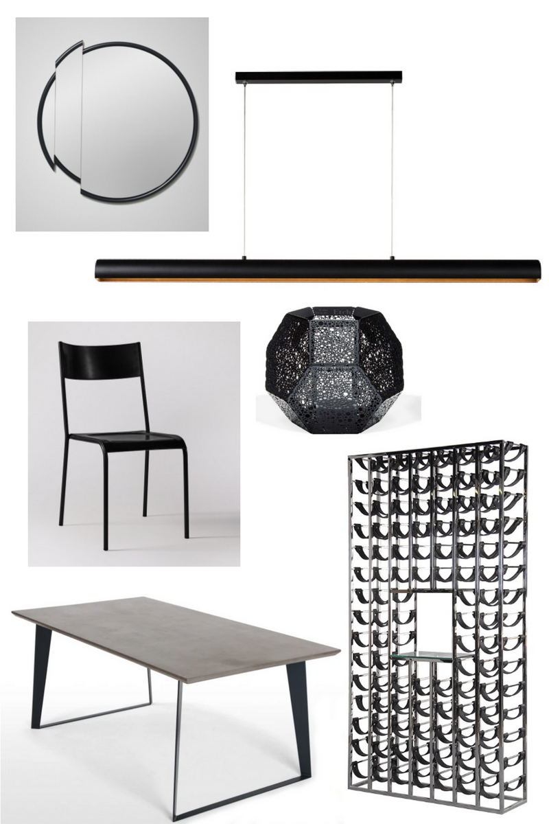 black+clean+lines+moodboard