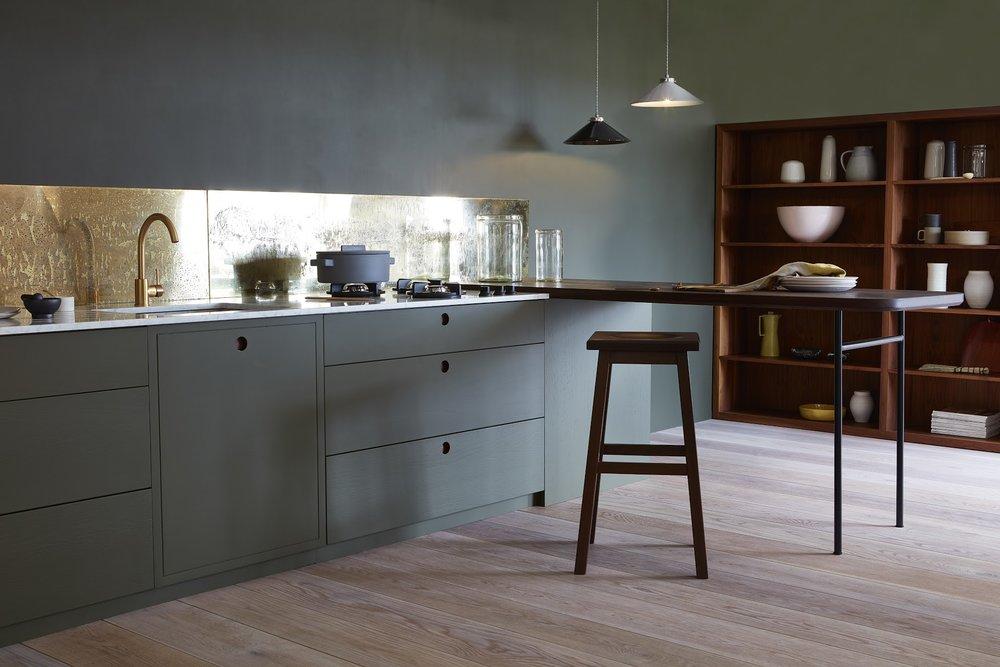 Merveilleux Naked Doors Kitchen