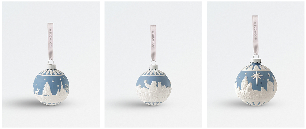 Wedgewood baubles