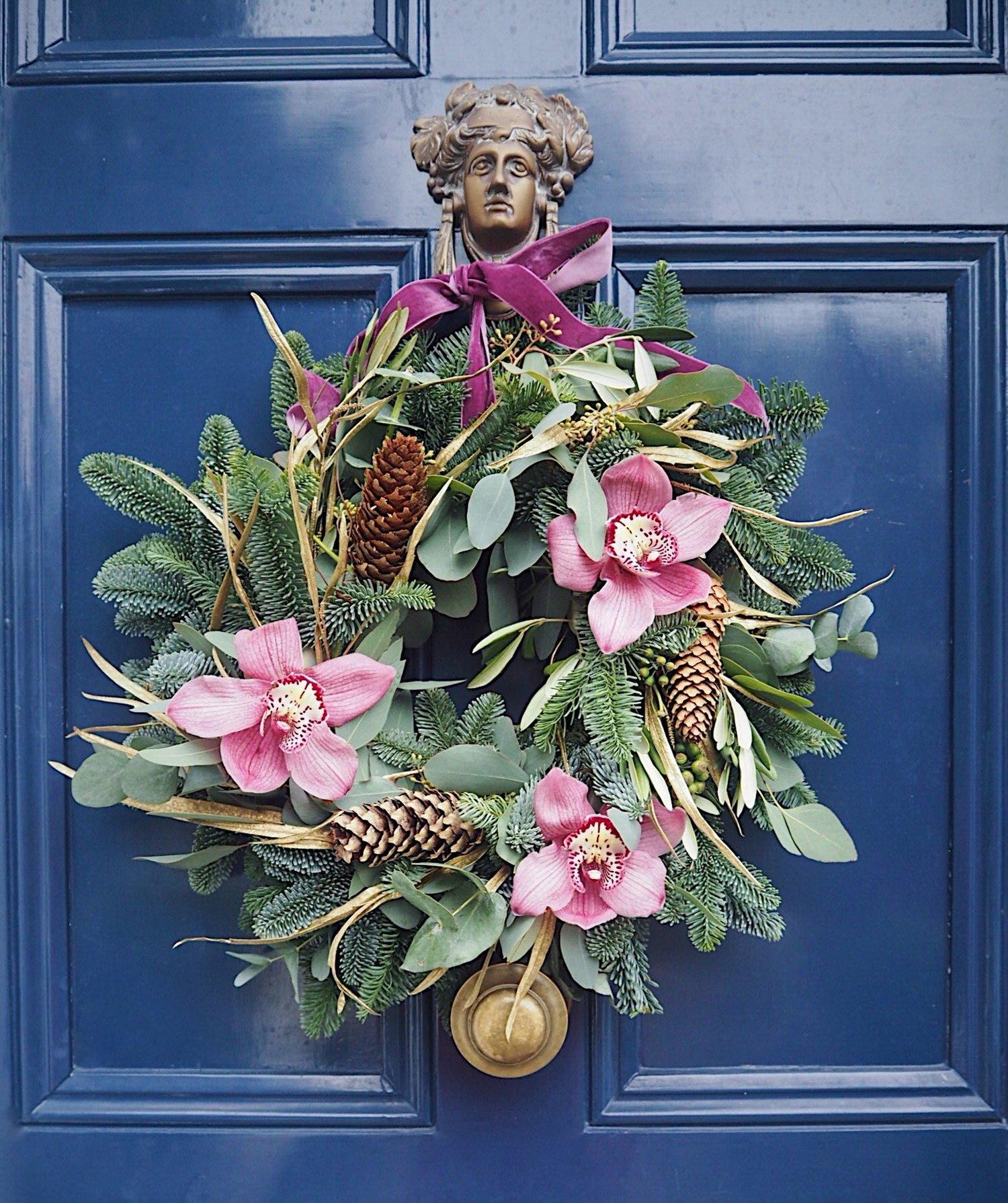 How To DIY A Xmas Wreath Like A Pro — MELANIE LISSACK INTERIORS