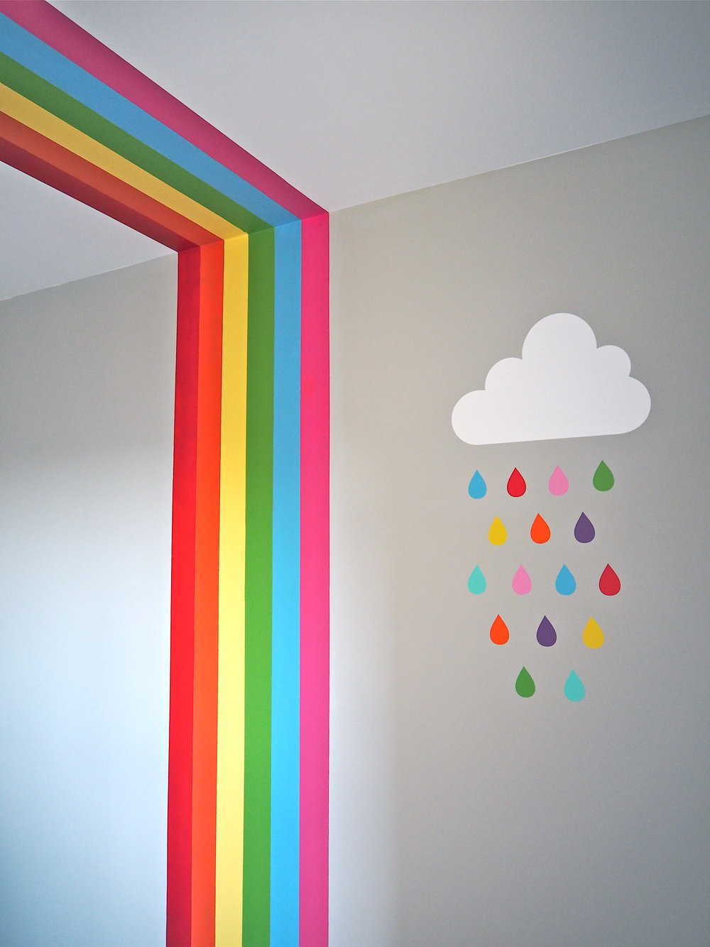 painted rainbow