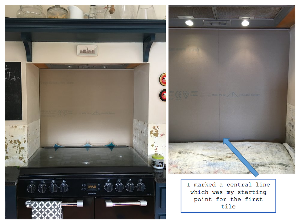 diy splashback