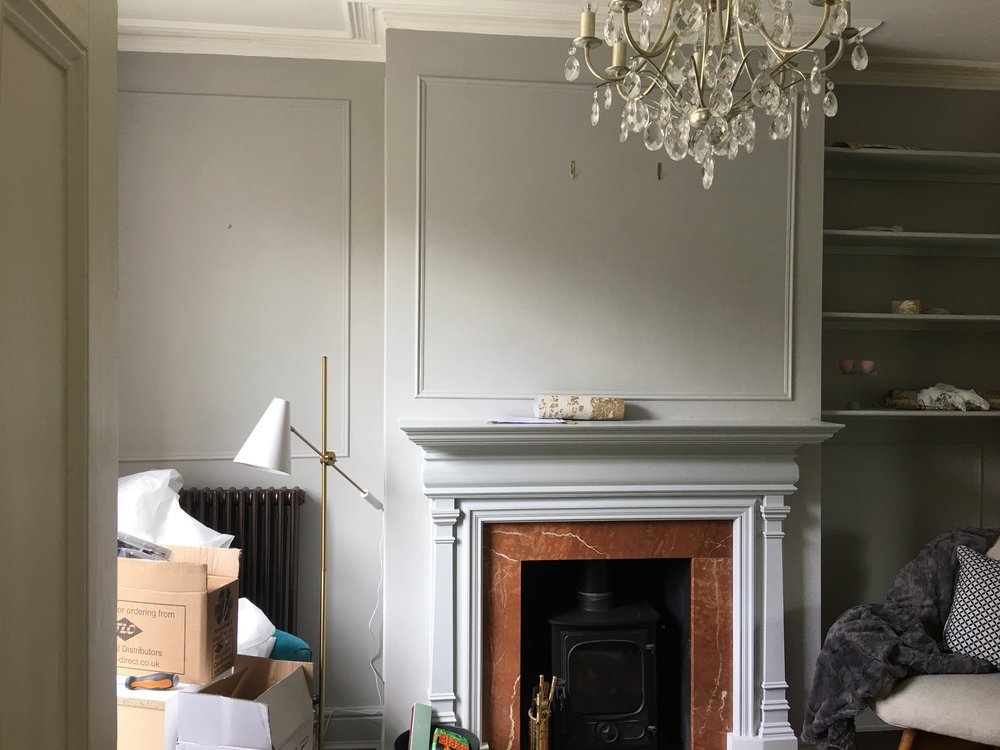 how to easily diy wall panelling