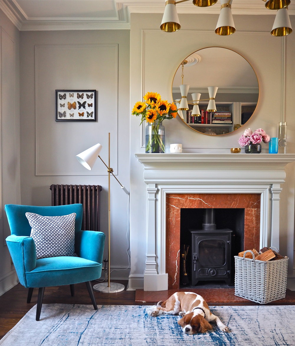 How To Easily Diy Wall Panelling In Your Home Melanie Lissack