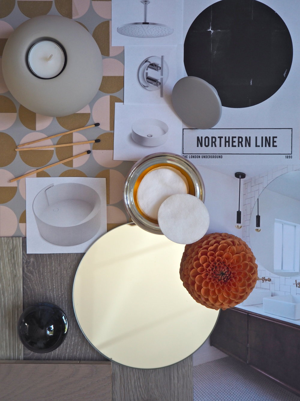kohler circles mood board