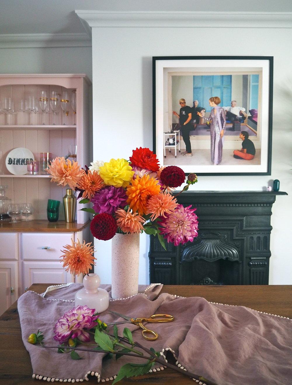 Sanderson dining room