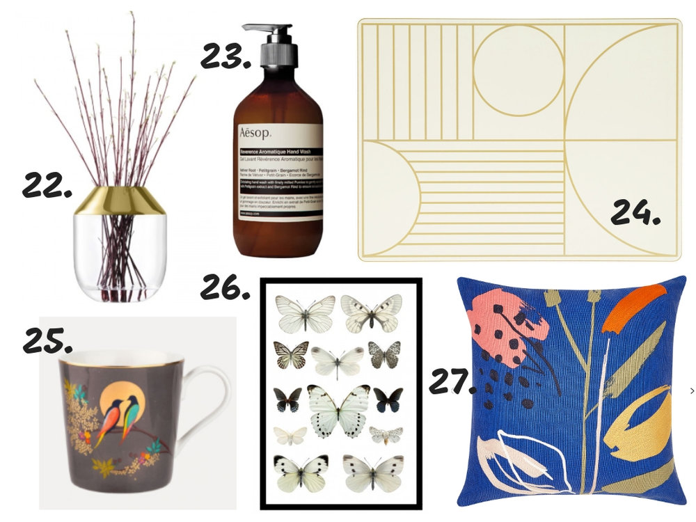 christmas gift guide for interior lovers 2018