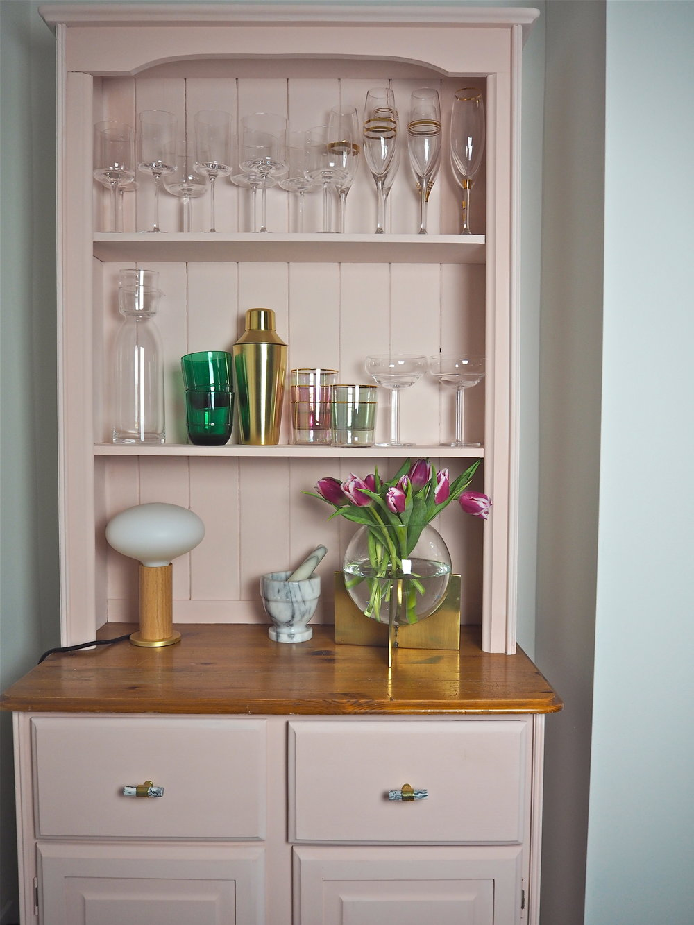 grand illusions chalk paint in pink