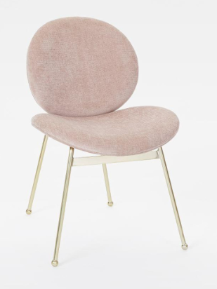 west elm blush pink and gold chair.png
