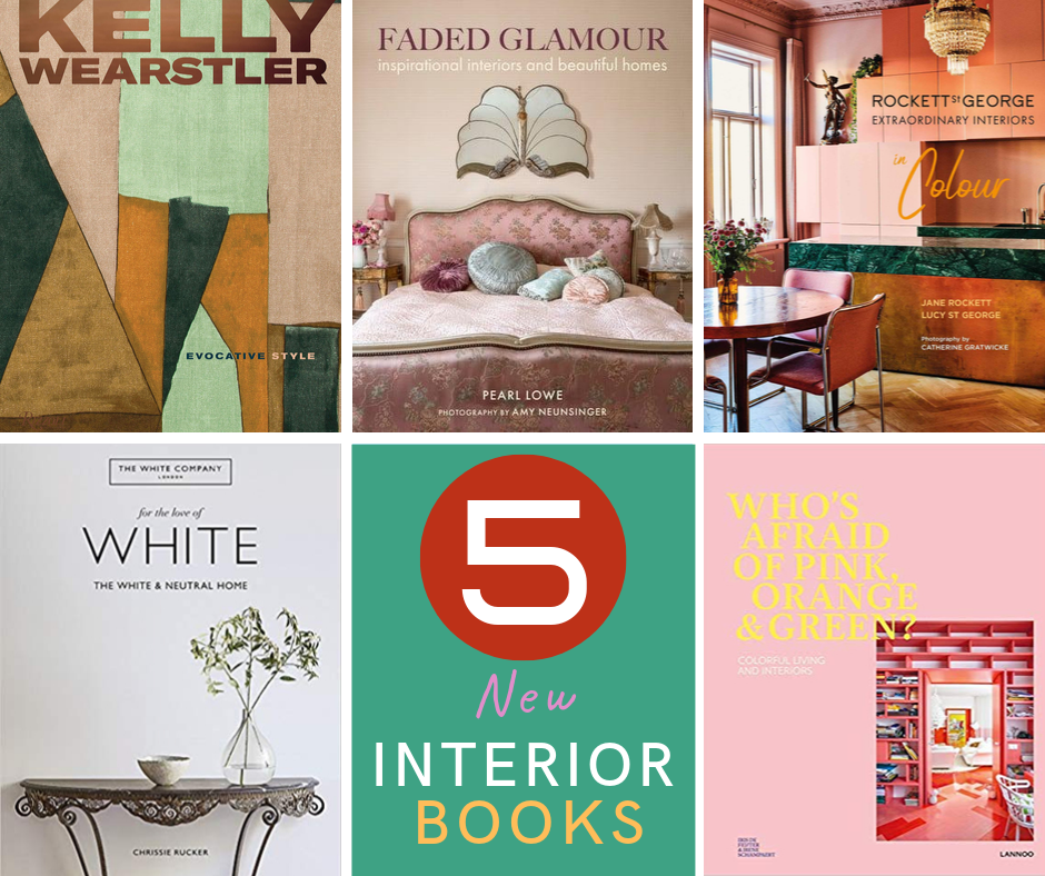5 New Inspirational Interior Design Books To Sink Your Teeth Into Melanie Lissack Interiors