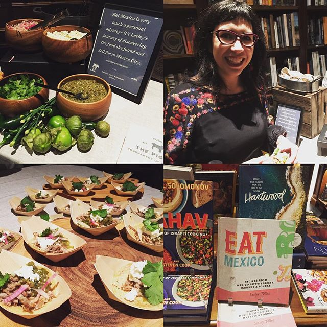 Had a blast at the @food52 Piglet Awards party tonight. There was a taco station inspired by Eat Mexico!