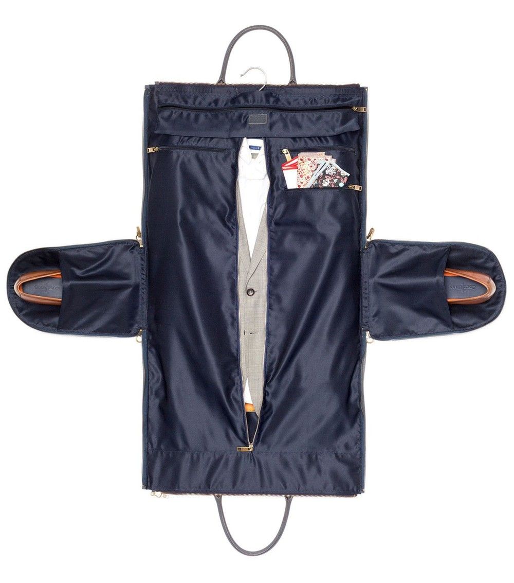 Wrapped garment bag pictured as header image