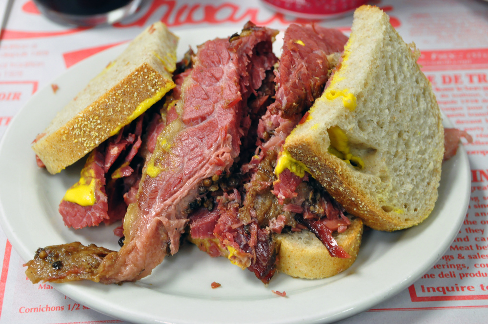 Order the Smoked Meat Sandwich