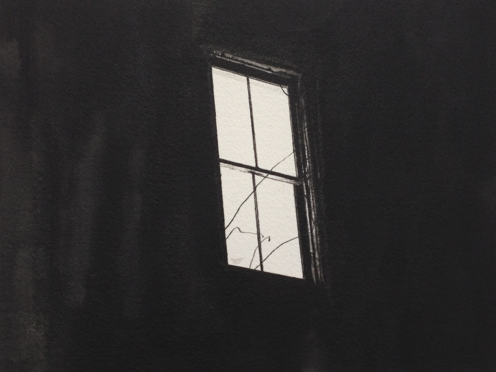 From Geoff's collection: Alex Bierk,Untitled, watercolour on paper, 2013 (Image courtesy of Geoff Plant-Richmond)
